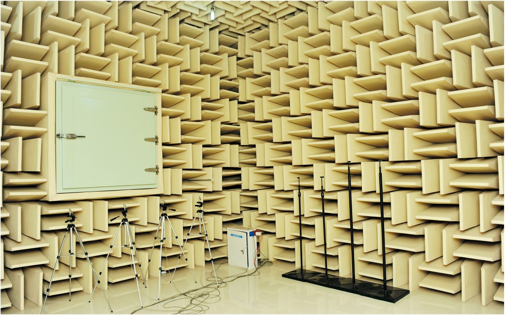 Soundproof Testing Room